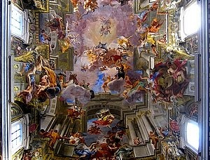 Andrea Pozzo's painted ceiling