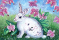 White Rabbit - Animal Paintings