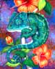 Chameleon - Animal Paintings