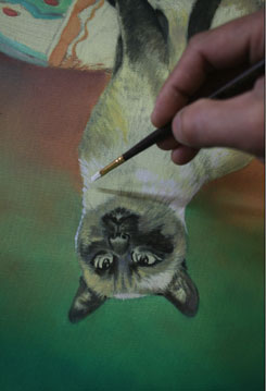 Cat Painting Stage 8